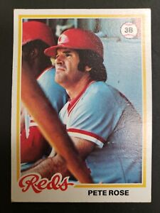 1978 Topps baseball card #20 Pete Rose