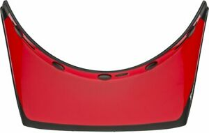 Bell Replacement Moto 3 550 Visor - Fasthouse Matte/Gloss Black/White/Red
