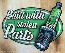 Xl stolen parts vintage old school autocollant sticker/stickerbomb us cars rétro