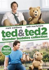 Ted & Ted 2 Unrated [New DVD] 2 Pack, Slipsleeve Packaging, Snap Case