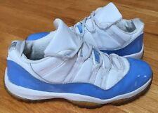 Vintage 2001 Nike Air Jordan 11 Patent Blue Columbia Carolina Low 11.5 11 12 OG
