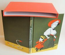 CAUTIONARY TALES Hilaire Belloc 1997 Folio Society box illust WRITING ON FEP