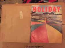HOLIDAY MAGAZINE- FEBRUARY 1966 with shipping sleeve  CARNIVAL IN RIO