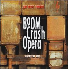 BOOM CRASH OPERA - THE BEST THINGS : GREATEST HITS CD ~ GREAT WALL 80's *NEW*