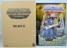 MASTERS OF THE UNIVERSE CLASSICS HE-RO II DARE NEW!!!