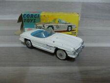 Corgi Toys 303S - Mercedes-Benz 300SL open Roadster - Alte Corgi mit OVP
