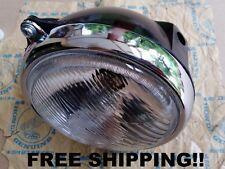 """Honda CB100 CB125 S CL100 CL125 XL100 Headlight 6"""" & Case & Bulb - FREE SHIPPIN4"""