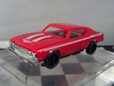 1969 CHEVY Chevelle Yenko S/C Red  T-JET New Ho Scale Slot Car Custom WHEELS