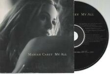 Mariah Carey My All CD SINGLE card sleeve