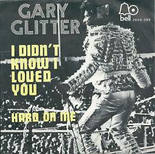 "Gary Glitter - I didn't loved you (7"") 1972 Belgique Belgium"