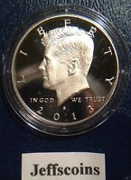 2013 S Mint Clad Proof Kennedy Half Dollar Early Strike Ultra Cameo 50¢ In Stock