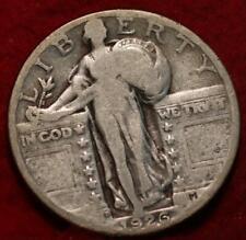 1926-D Denver Mint Silver Standing Liberty Quarter