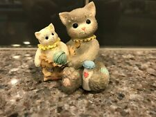 1996 I'm Sending You A Bag Full Of Love Calico Kittens Enesco # 6C2/803 No Box