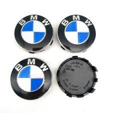 4Pcs 56mm Genuine BMW Emblem Logo Badge Hub Wheel Rim Center Cap