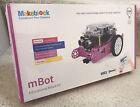 MakeBlock mBot v1.1 Pink STEM Educational Programmable Robot Bluetooth NEW