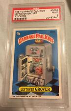 1987 TOPPS GARBAGE PAIL KIDS  # 306B Leftover Grover - - PSA Mint 9