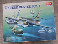 ACADEMY 2169 - HAWKER HUNTER FGA.9 + AIRES RESIN & ETCHED PARTS 1/48  NO DECALS
