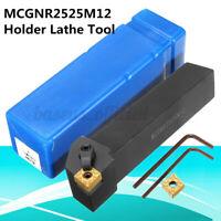 MCGNR2525M12 Lathe Holder Turning Alloy Steel For CNMG/CNMM1204 Insert +