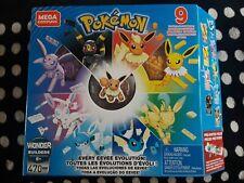 Mega Construx Pokemon Evolution Every Eevee 470 Pieces Set New