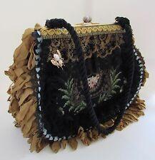Magnolia Pearl Inspired Needlepoint Embellished Handbag