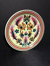 ANTIQUE CERAMIC ART POTTERY WALL HANGING DISH PLATE SIGNED TERRA HELLAS GREECE!!