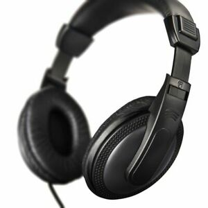 Headphones - Hama over-ear with extra long cable and volume control