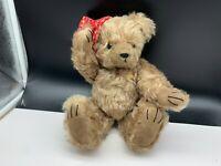 Künstlerbär Grizzly Spieluhr Teddy Bär 30 cm. Unbespielt. Top Zustand