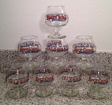 SIERRA NEVADA Brewery BEER CAMP 4 ounce TASTING / SAMPLER GLASSES Set of 8