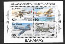 BAHAMAS SGMS1136 1998 ROYAL AIR FORCE  MNH