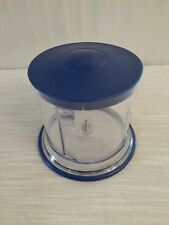 Ninja QB900B 30 Master Prep Blender Replacement Part Work Bowl 16oz (2 Cup) Blue
