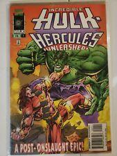 Incredible Hulk: Hercules Unleashed #1 Oct 1996 Marvel comics avengers deadpool
