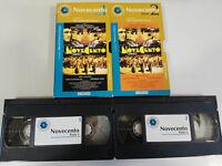 NOVECENTO BERNARDO BERTOLUCCI PARTE 1 + 2 VHS CAJA CARTON CASTELLANO EL MUNDO