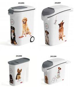Curver Tierfutterbehälter Futterbehälter Futtertonne Futtercontainer Hund