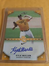 2015 Leaf Perfect Game - KYLE MULLER - GOLD Autograph RC #/50 - Rookie