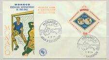 Monaco Sc. 601 60th Anniversary of FIFA Soccer on 1964 FDC
