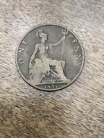 1897 Great Britain One Penny FK228