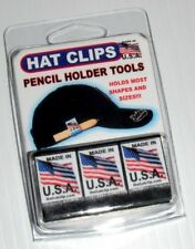 HAT CLIP PENCIL HOLDER TOOLS That Can Hold Golf Or Carpenter Pencils, Sharpie 3