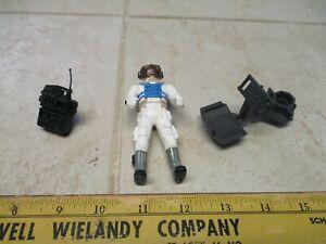 VTG Milton Bradley Robotix R-2000 Pilot Figure w/Backpack w/Seat Toy Astronaut