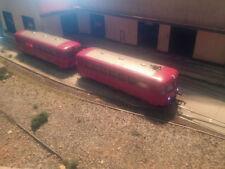 Fleischmann Modellbahnloks der Spur H0 für Gleichstrom mit Schienenbus