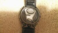 Harley Davidson watch bulova 96014 RARE EAGLE  gift collectible vintage nice