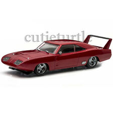 Greenlight Fast And Furious 6 Dom's 1969 Dodge Charger Daytona 1:43 Maroon 86221