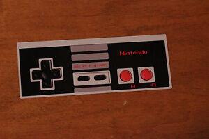 Original Nintendo Controller Sticker Decal NES