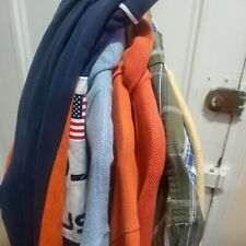 New listing Lot Of 8 Polo Ralph Lauren Men's Shirts,Sweaters and rugby  L/XL and custom fit.