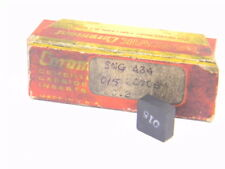 NEW SURPLUS 1PC. SANDVIK  SNG 434  GRADE: 015 CARBIDE INSERT