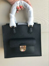 ade3a4d72b17d6 Style: Shoulder Bag. NWT MICHAEL KORS BRIDGETTE SMALL NS MESSENGER BLACK  SAFFIANO LEATHER GOLD $298