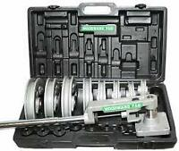 Woodward Fab Square or Round Steel Pipe and Tube Bender Bending Kit