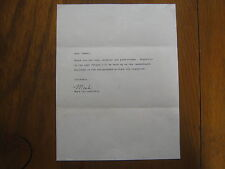"MARK  CALCAVECCHIA (1989  Open  Champion) Signed  8 1/2"" X 11""  Personal  Letter"
