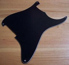 3-Ply BLACK Blank Pickguard 4 FENDER Stratocaster STRAT