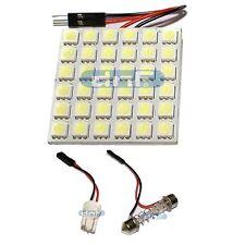 T10 Festoon Panel Board LED LAMP 43 MM Adapter Dome White 5050SMD 36 LED Light