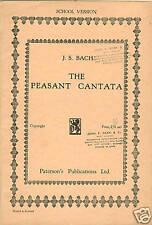 BACH Music Book The PEASANT CANTATA Opera / Ballet SHOW